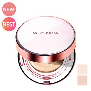Phấn nước trang điểm che khuyết điểm SPF50+, PA+++ Milky Dress MILKY DRESS TRILL BEIGE EYEBROW