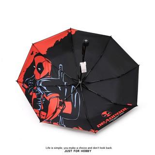 Dù Gấp In Hình Nhân Vật Deadpool Marvel Cá Tính