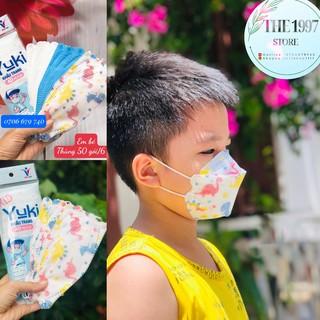 Khẩu Trang Yuki 4D Kid Cho Bé ,Họa Tiết Khủng Long, Mickey ,Kháng Khuẩn ,Bảo Vệ Sức Khoẻ ,Hàng Cty thumbnail