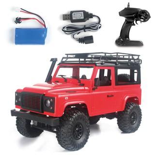Xe ô tô 2 cầu Offroad Land Rover D90 4×4 1:12 – Rock Crawler (Màu Đỏ)