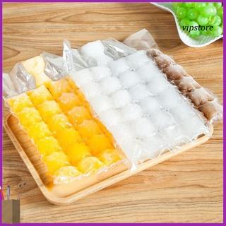 VIP 10Pcs 24 Grids Disposable Food Grade Ice Maker Bag Cube Tray Summer DIY Mould thumbnail