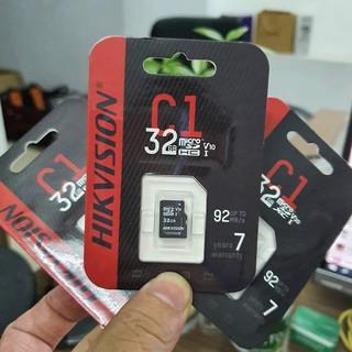 Thẻ Nhớ Micro SD HIK VISION 32GB 92Mb/s CHÍNH HÃNG - BH 3 Năm Giá Rẻ