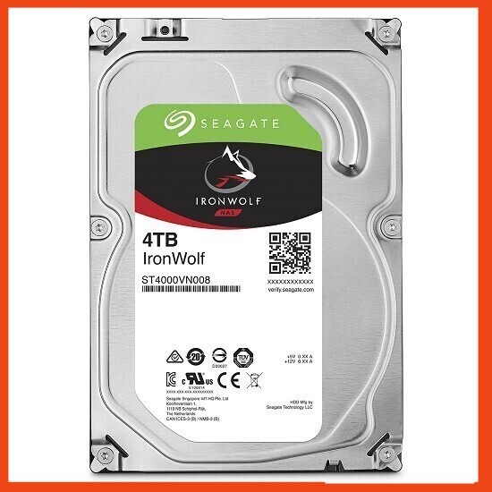 {SALE KHỦNG} Ổ Cứng HDD Seagate IronWolf dung lượng 4TB/64MB/3.5 - ST4000VN008