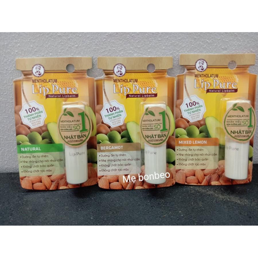 Son dưỡng LipIce Lip Pure chiết xuất thiên nhiên 3.9g