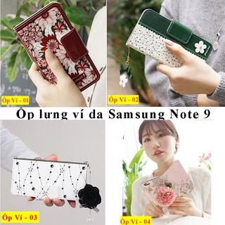 Ốp Note 9 (Ốp lưng Ví Da cao cấp Samsung Note 9)