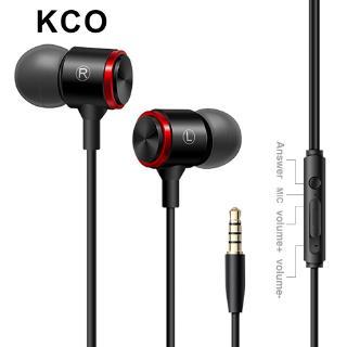Tai Nghe Nhét Tai KCO KWE3 3.5mm Có Dây Tích Hợp Micro Điều Khiển Từ Xa Cho Điện Thoại Android