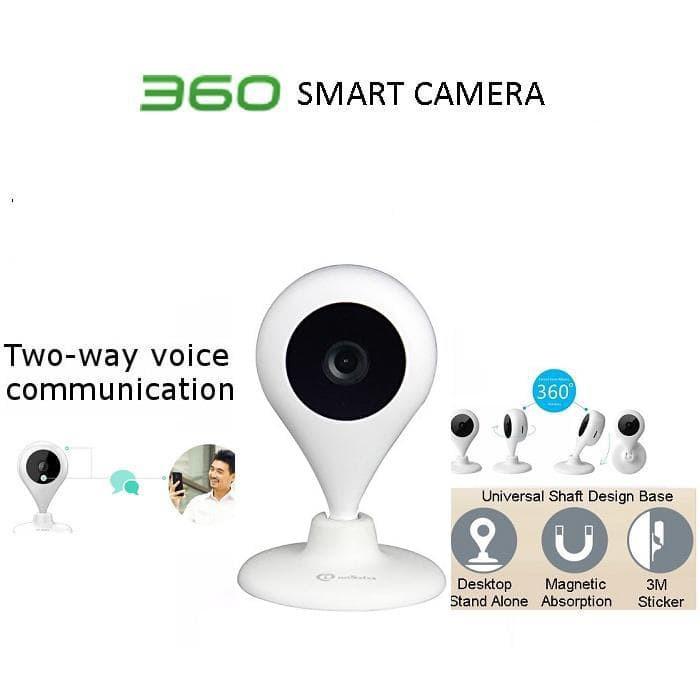 Camera quan sát Qihoo 360 Wifi Ip 1080p góc 150 độ Quốc tế ( D606 )