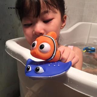 ♕Lovely Cartoon Fish Sea Animal Baby Kids Spray Water Tub Bathroom Play Bath Toy