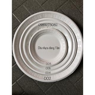 Đĩa nhựa dùng 1 lần đủ size - đựng đồ ăn, bán thumbnail