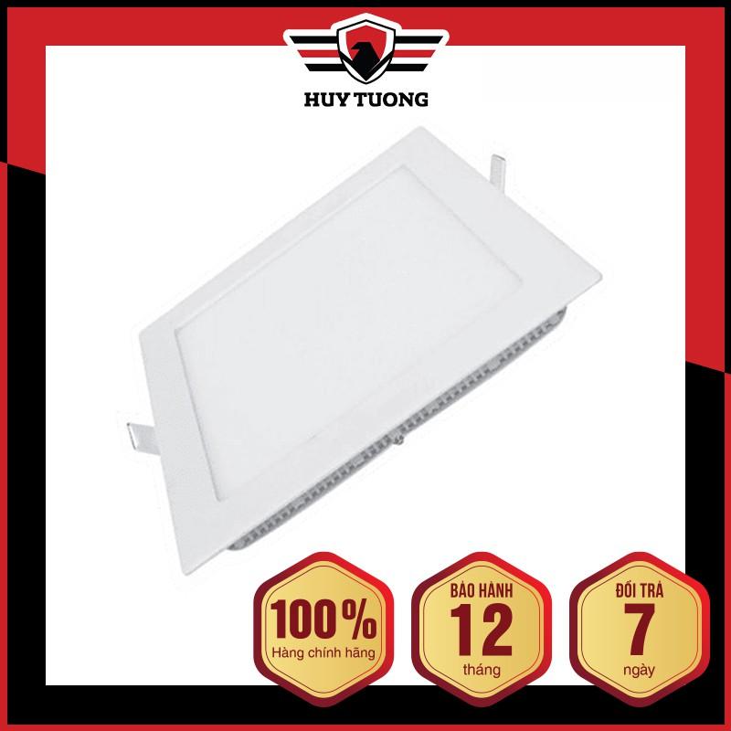 Đèn led panel âm trần tròn  FREESHIP  Đèn led âm trần hình tròn công suất 6W / 9W / 12W / 18W cao cấp - Huy Tưởng