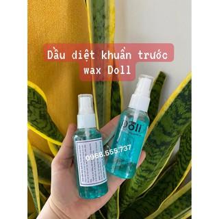 Dầu Kháng khuẩn và Dưỡng Da trước Khi Wax Doll wax 60ml