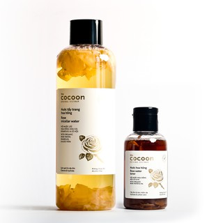 Combo Nước tẩy trang hoa hồng cocoon 500ml + Nước hoa hồng cocoon 140ml Sạch da cấp ẩm thumbnail