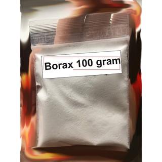 Bột borax 100gr – nguyên liệu làm slime