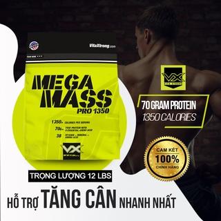 Thực Phẩm Bổ Sung Tăng Cân và Cơ Nạc VitaXtrong Mega Mass 1350 (5.4kg) thumbnail