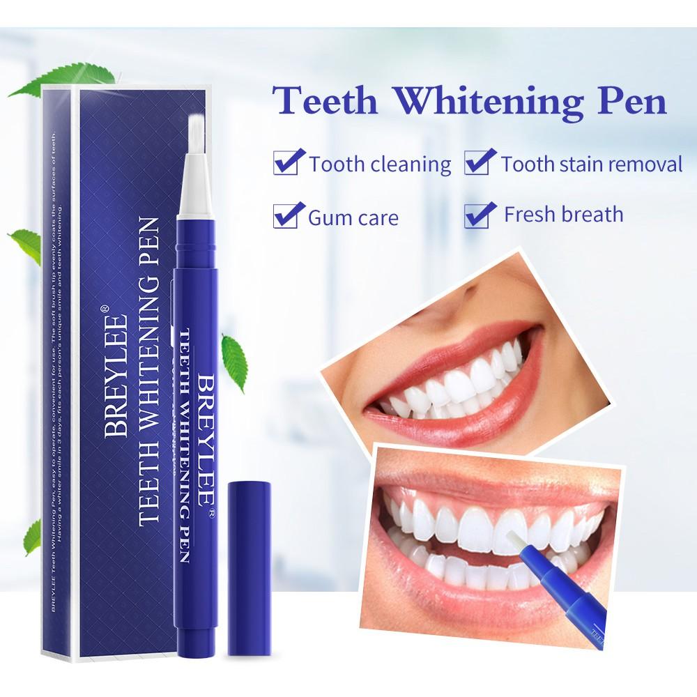 Bút tẩy trắng răng BREYLEE hiệu quả cao tiện dụng 3ml