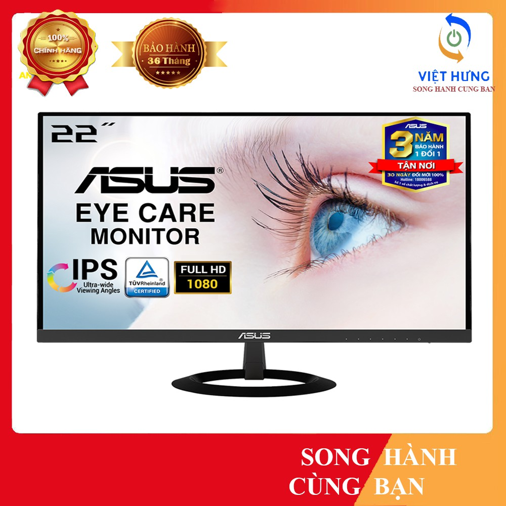 Màn Hình Siêu Mỏng ASUS VZ228HE 21.5 inch IPS Full HD Bảo Vệ Mắt