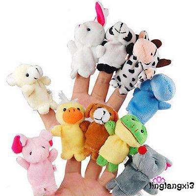 Con rối đeo ngón tay hình các con vật siêu thú vị dành cho các bé