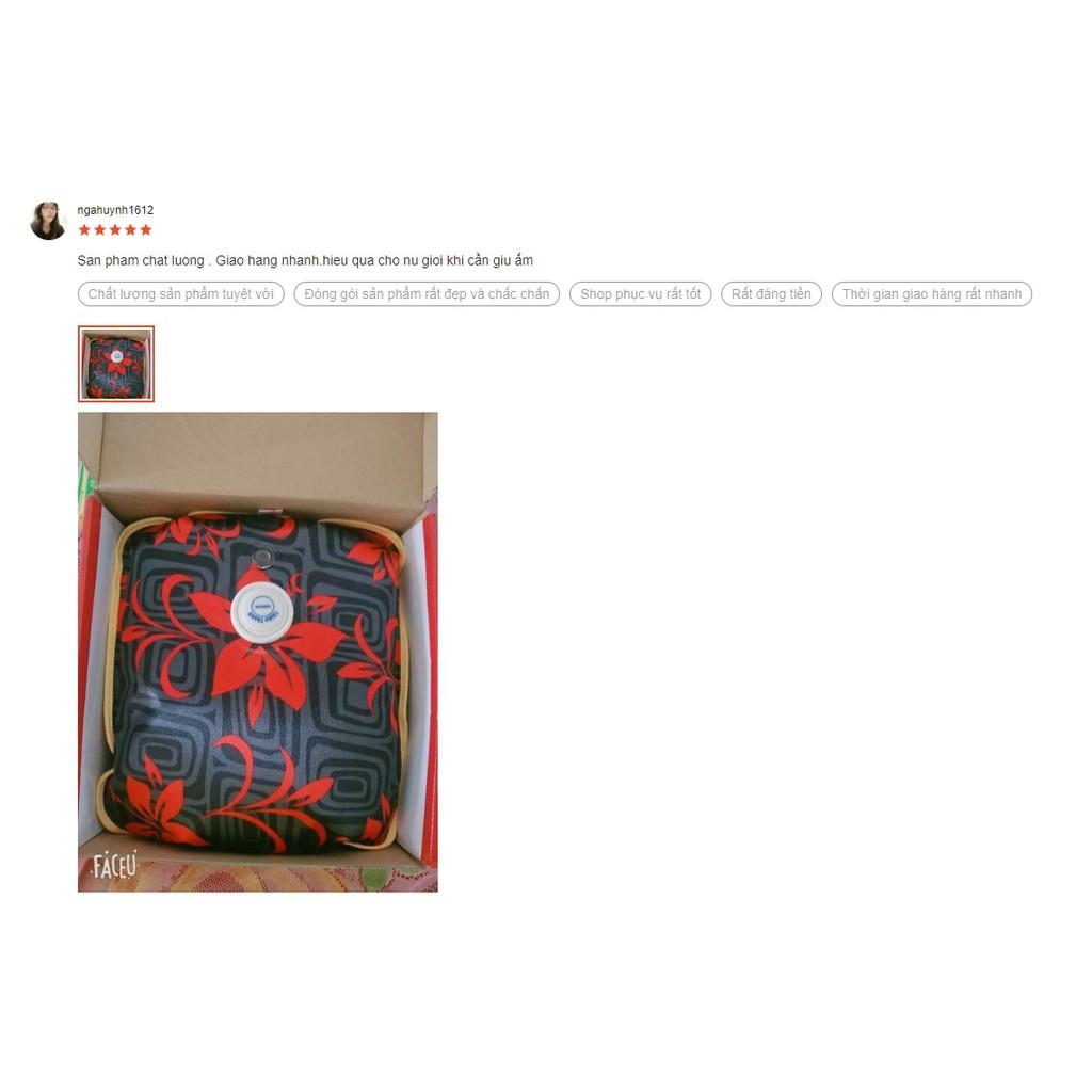 Túi Chườm Nóng Lạnh Thiên Thanh size lớn 35cm x 25cm x 7cm - Hàng Tốt Chính Hãng
