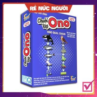[SALE MÙA DỊCH] Board game-Chuỗi Ono KÉP Foxi-thẻ glenndoman thông minh-chuỗi thức ăn của động vật biển
