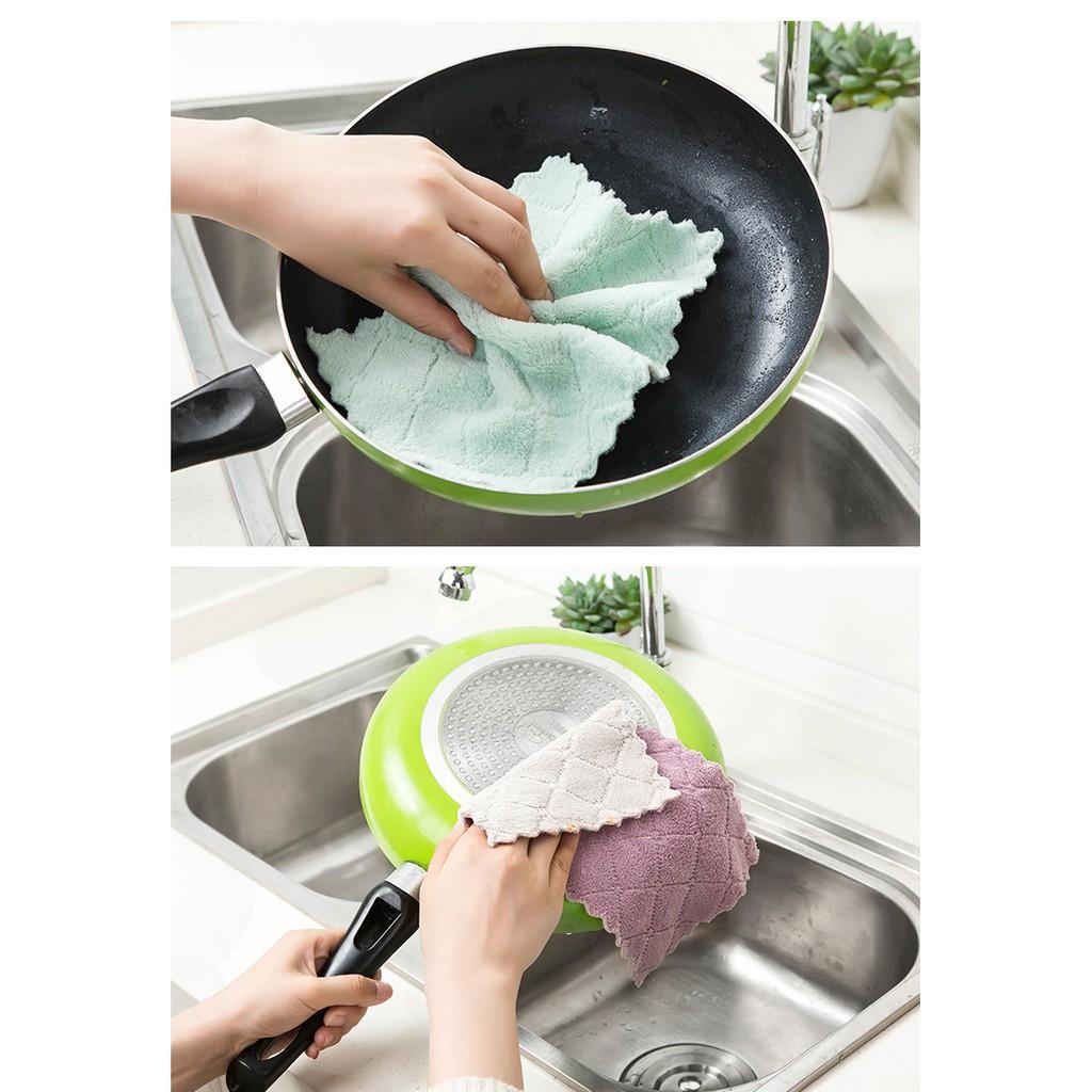 [BÁN SỈ] - FREESHIP - khăn lau đa năng siêu thấm, khăn lau bếp siêu sạch (1 CHIẾC)