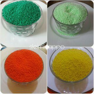 Hạt xốp màu (loại mini)