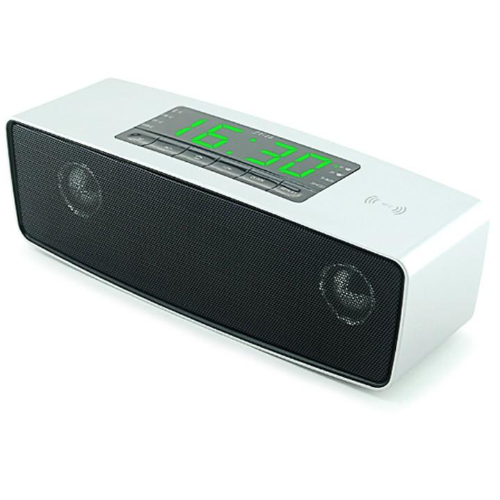 Loa Bluetooth cao cấp nghe nhạc đa năng usb thẻ nhớ đài FM JY 16 (Màu bạc)