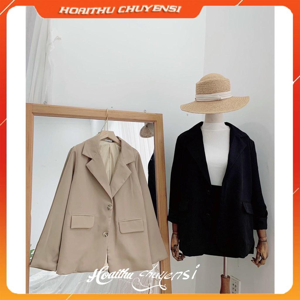 Mặc gì đẹp: Xinh tươi với Áo Vest 2 Lớp Blazer Basic Hàn Quốc - Thời Trang Công Sở