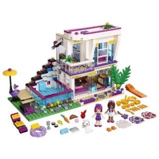 Lego friends 10498 – biệt thự của Livi.