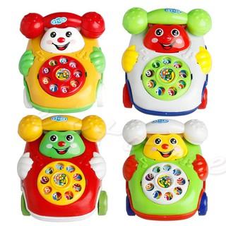 điện thoại đồ chơi phát nhạc, hình nhân vật hoạt hình- đồ chơi giáo dục cho bé