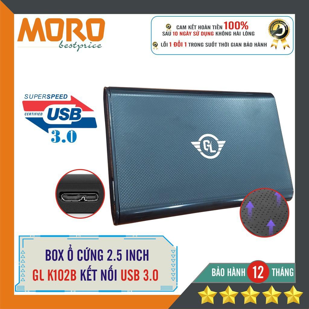 Hộp đựng ổ cứng HDD BOX SATA 3 USB 3.0 Gloway - Kesu K102B