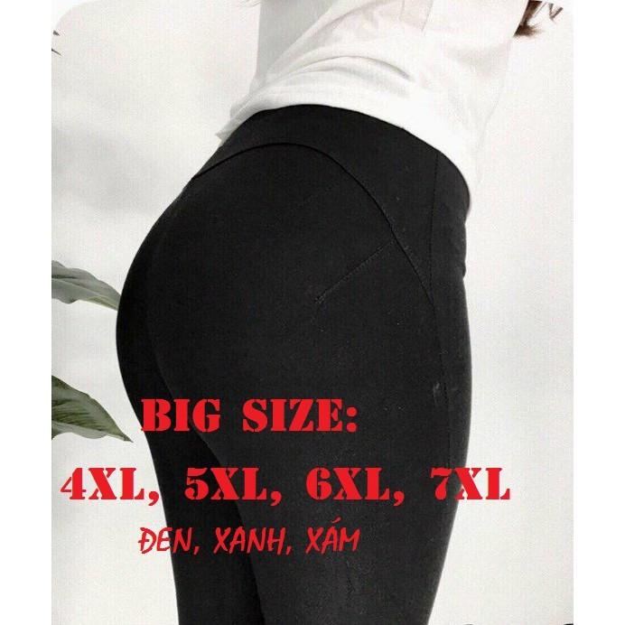 Quần legging bigsize