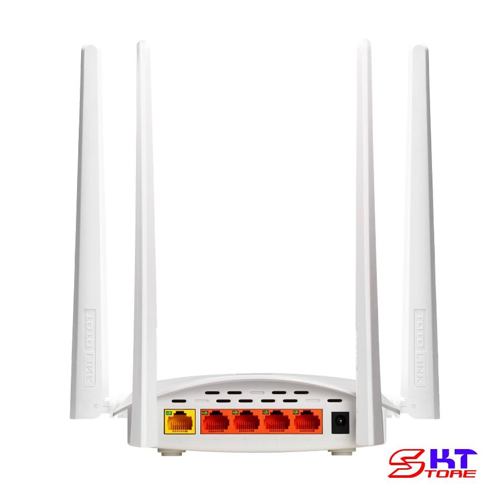 Bộ Phát Wifi MIMO Totolink N600R Chuẩn N Tốc Độ 600Mbps - Hàng Chính Hãng