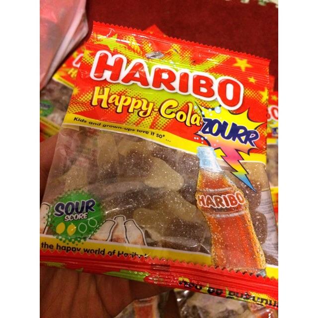 |Kẹo Dẻo Thái| Kẹo Haribo Happy-Cola ZOURR 80g(Repice from Germany) - 2983974 , 797789694 , 322_797789694 , 27000 , Keo-Deo-Thai-Keo-Haribo-Happy-Cola-ZOURR-80gRepice-from-Germany-322_797789694 , shopee.vn , |Kẹo Dẻo Thái| Kẹo Haribo Happy-Cola ZOURR 80g(Repice from Germany)