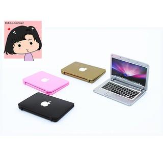 Laptop Mac Book nhà búp bê tỷ lệ 1/12 1/6