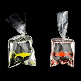 ☆VN 1:12 Dollhouse Miniature Transparent Bag Goldfish Doll Pet Toy Decor