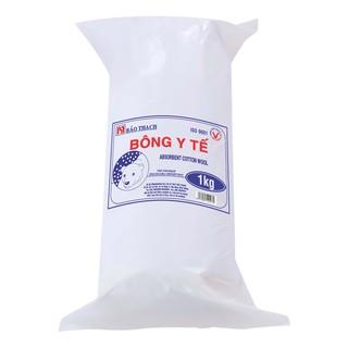 Bông cuộn y tế Bảo Thạch cuộn 1kg thumbnail