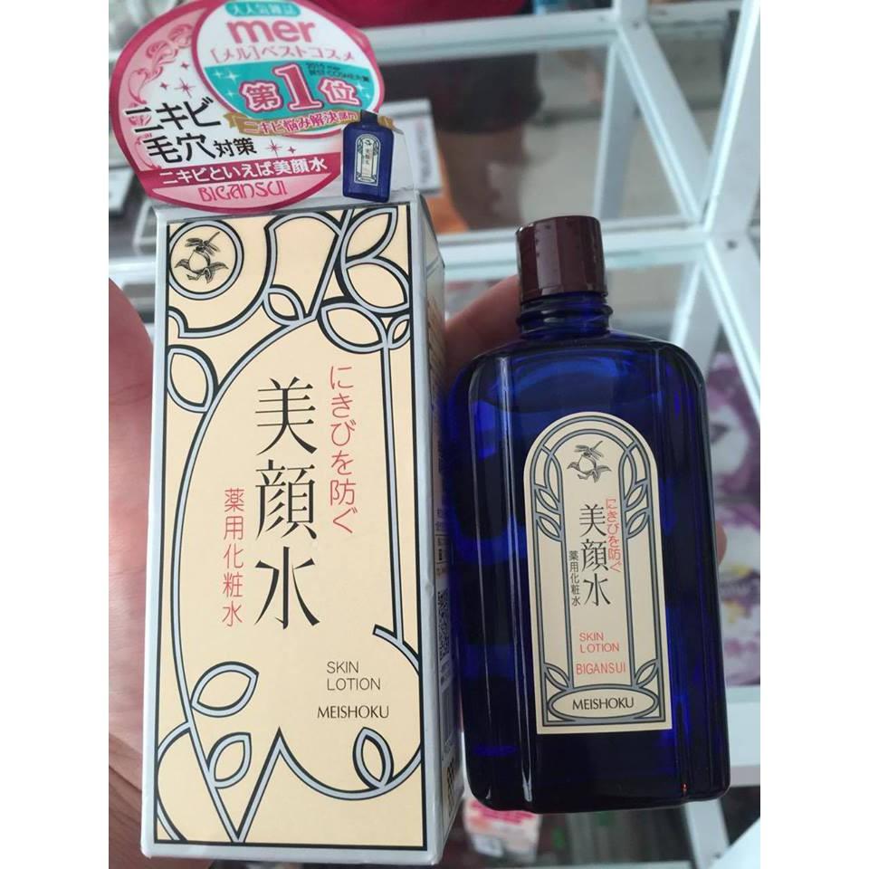Nước Hoa Hồng Nhật Bản - Lotion Meishoku Bigansui Medicated Skin đặc trị mụn 80ml - 22346059 , 820728074 , 322_820728074 , 170000 , Nuoc-Hoa-Hong-Nhat-Ban-Lotion-Meishoku-Bigansui-Medicated-Skin-dac-tri-mun-80ml-322_820728074 , shopee.vn , Nước Hoa Hồng Nhật Bản - Lotion Meishoku Bigansui Medicated Skin đặc trị mụn 80ml