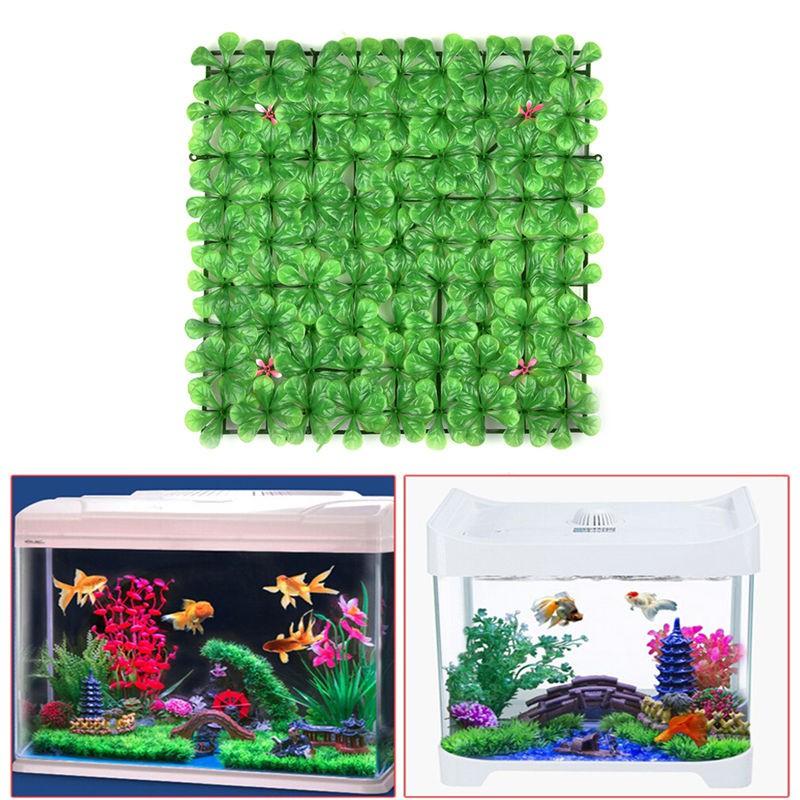 Artificial Plastic Water Grass Green Plant Lawn For Aquarium Fish Tank Decor gogoxpmall