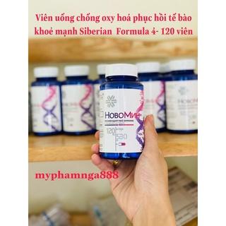 [Mẫu mới] Viên uống chống oxy hóa, phục hồi tế bào khỏe mạnh Siberian Novomin Formula 4 120 viên thumbnail