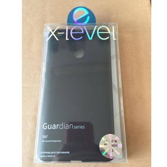 Ốp lưng dẻo X-Level dành cho Xiaomi Mimax 2 tặng kính cường lực