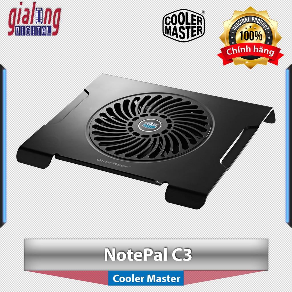 Đế tản nhiệt Laptop Cooler Master NotePal C3 dùng cho máy tính xách tay - 3063618 , 1042047262 , 322_1042047262 , 215000 , De-tan-nhiet-Laptop-Cooler-Master-NotePal-C3-dung-cho-may-tinh-xach-tay-322_1042047262 , shopee.vn , Đế tản nhiệt Laptop Cooler Master NotePal C3 dùng cho máy tính xách tay