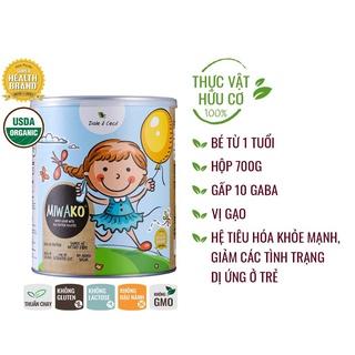 Sữa thực vật hữu cơ Miwako - Vị gạo - KL700g thumbnail