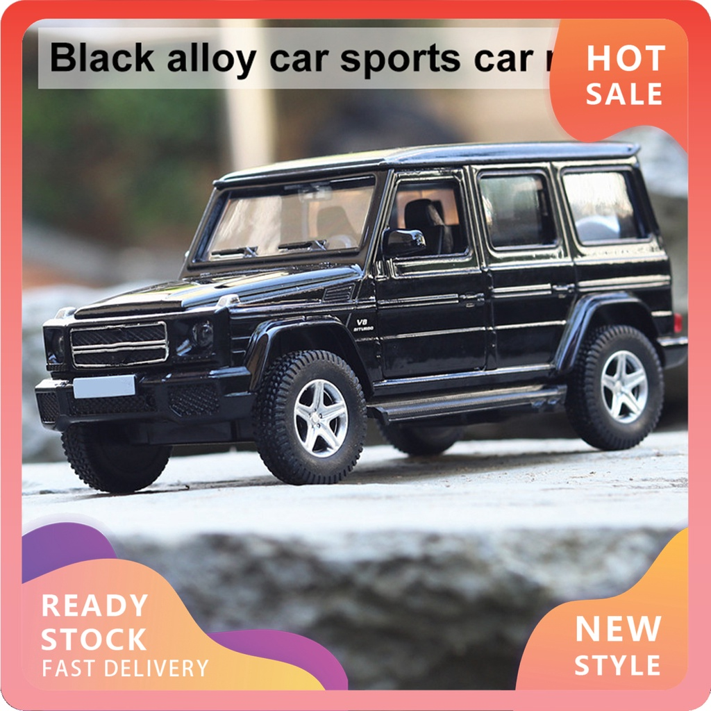 YX-MO Toy Car Environmentally Friendly Smallest Details Black Alloy Collectible Die-Cast Car Model for Kids