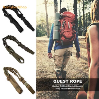 Domybestshop Outdoor Multifunctional A Single Point Rope Adjustable Task Safe Rope Sling