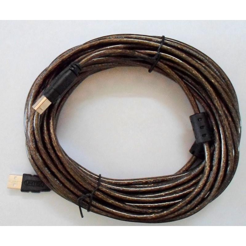 Cáp USB máy in 5m chính hãng Unitek Y-C421