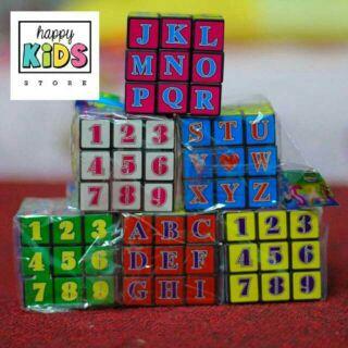 Rubic số chữ
