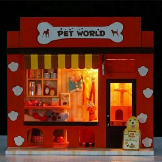 Nhà búp bê DIY pet world