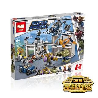 (HÀNG CÓ SẴN) Mẫu lắp ráp Trận Chiến End Game Marvel Lepin 07123 Lego 76131