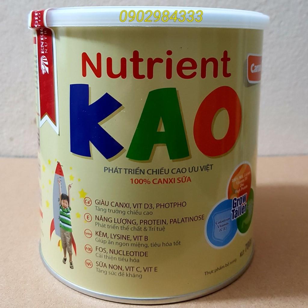 Sữa Nutrient Kao lon 70