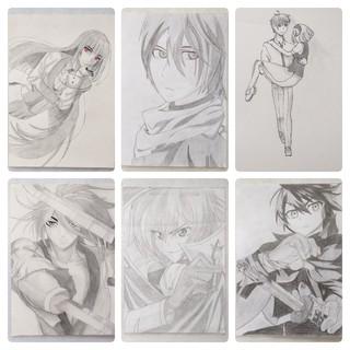 Tranh Vẽ Anime Manga Theo Yêu Cầu